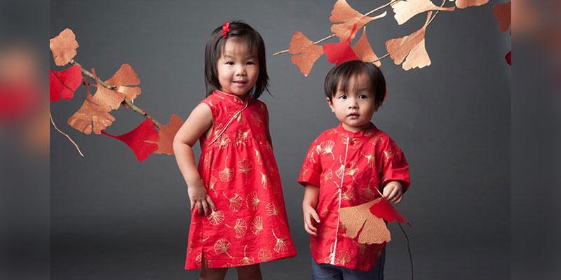 Cheongsam-kids
